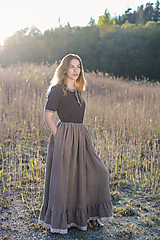 Šaty - Summer field dress - Emma - 10754206_