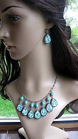 Sady šperkov - Slzičkový ozdobný náhrdelník, č. 2698 - 10752666_