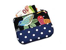 Peňaženky - taštička do kabelky 14,5x10cm - 10754172_