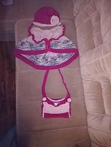 Iné oblečenie - Súprava pre slečnu. Baretka, kabelka baretka - 10752269_