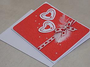 Papiernictvo - ...pohľadnica svadobná... - 10754993_