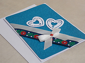 Papiernictvo - ...pohľadnica svadobná... - 10755003_