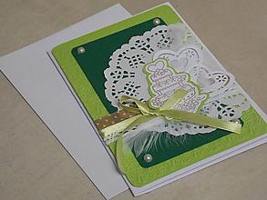Papiernictvo - ...pohľadnica svadobná... - 10755016_