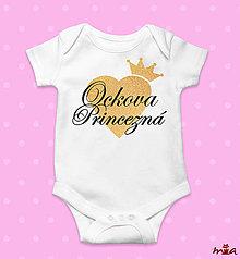 Detské oblečenie - Ockova princezná / ockov princ - 10752951_