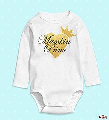 Detské oblečenie - Mamkina princezná / Mamkin princ - 10755038_