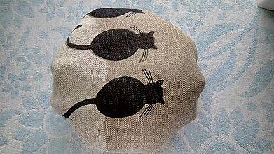 Nákupné tašky - Skladacia nákupná taška mačky - 10752772_