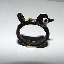 Prstene - Vtáčikový prsteň - 10754008_