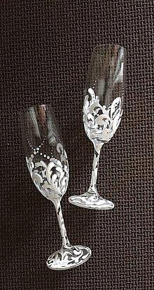 Drobnosti - Svadobné poháre - 10754203_