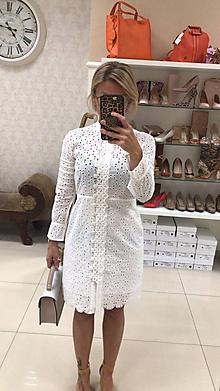 Šaty - Šaty/Tunika z vyšívanej madeiry - 10753118_