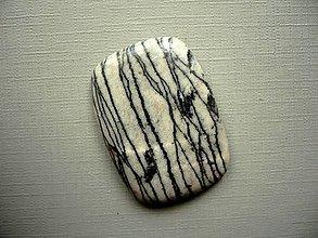 Minerály - Kabošon - jaspis písmenkový 38 mm, č.4f - 10753727_