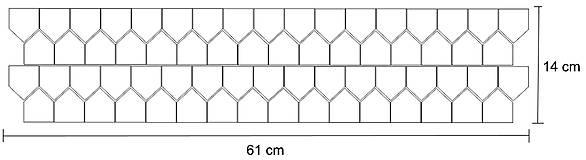 Dekorácie - Nálepky na stenu - Škandinávske domčeky 66 ks (Šedá) - 10751657_