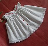Detské oblečenie - Ručne maľované šatočky - 10754711_