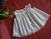 Detské oblečenie - Ručne maľované šatočky - 10754714_