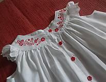Detské oblečenie - Ručne maľované šatočky - 10754717_