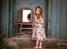 Detské oblečenie - Ľanové šatôčky Izabela - 10754470_