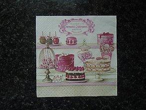 Papier - ružová - 10753604_