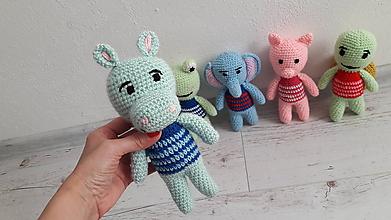 Hračky - zvieratká 5 x inak (hrošík) - 10754432_