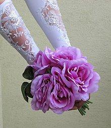 Rukavice - Svadobné rukavičky III - 10754537_