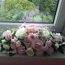 Dekorácie - ikebana na svadobný stôl - 10754570_