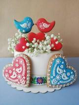 Dekorácie - Medovnikove komponenty na tortu - 10757758_