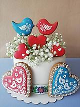 Dekorácie - Medovnikove komponenty na tortu - 10757759_