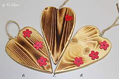 Dekorácie - Srdiečko z lásky (Do dvoch dlaní) - 10756440_