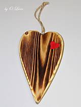 Dekorácie - Srdiečko z lásky (Do dvoch dlaní) - 10756444_