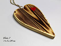 Dekorácie - Srdiečko z lásky (Do dvoch dlaní) - 10756447_