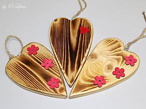 Dekorácie - Srdiečko z lásky (Do dvoch dlaní) - 10756438_