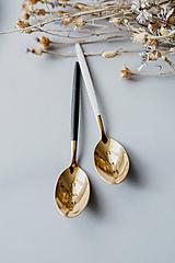 - Špeciálna edícia-sada zlatých lyžičiek - 10757834_