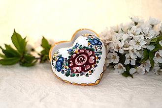 Nádoby - Srdce - šperkovnička - 10755449_
