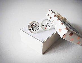 Šperky - Manžetové gombíky - 10758065_