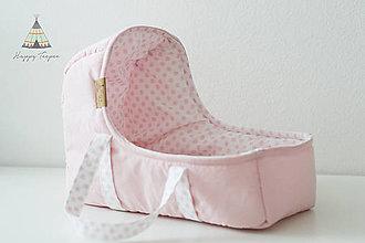 Hračky - Prenosná taška na bábiku - 10757800_