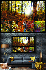 Grafika - POSTER/PLAGÁT/FOTO A3 (jeseň) - 10757081_
