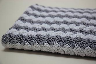 Textil - Háčkovaná deka pro Tomíka (na objednávku) - 10755670_