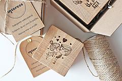 Krabičky - Drevená kocka s vašimi najkrajšími spomienkami  - 10756241_