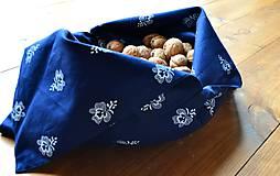 Iné tašky - Ekologické vrecko vo folk štýle - 10757678_