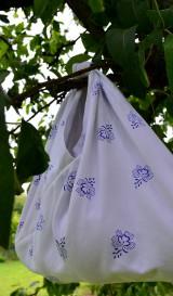Iné tašky - Ekologické vrecko vo folk štýle - 10757684_