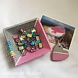 Dekorácie - Betónová dekoračná miska z kolekcie pre dievčatko - 10755151_