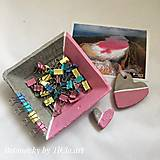 Dekorácie - Betónová dekoračná miska z kolekcie pre dievčatko - 10755153_