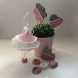 Dekorácie - Zápich do kvetín z kolekcie pre dievčatko - 10755196_