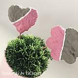 Dekorácie - Zápich do kvetín z kolekcie pre dievčatko - 10755200_