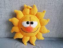 Hračky - Háčkované slnko. - 10756215_