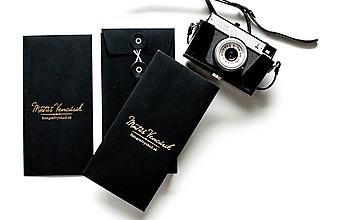 Papiernictvo - Foto-balenie black / vrecko - 10756082_