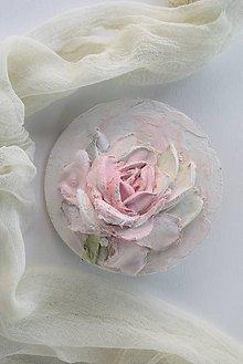Obrazy - ruža - sculpture painting - 10755369_