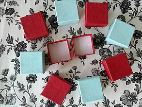 Iné šperky - Krabičky Red na šperky. - 10757882_