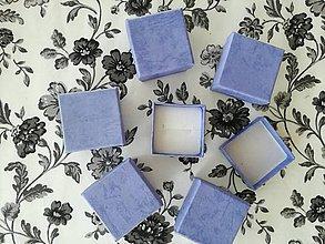 Iné doplnky - Krabičky Blue na šperky. - 10757906_