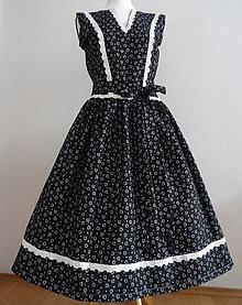 Šaty - Romanticko folklorne šaty - 10755747_