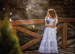 Detské oblečenie - Ľanové šatôčky pre lesné víly - 10757808_