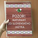 Papiernictvo - Pozor! Maturant zo slovenčiny - zakladač - 10756299_